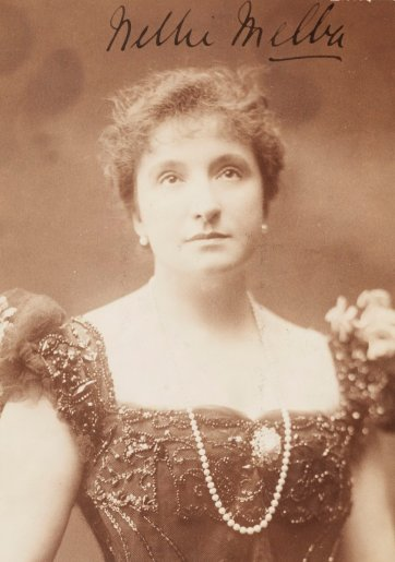 Dame Nellie Melba an unknown artist