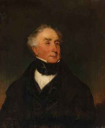 Major Thomas Lord, c.1840 by Henry Mundy