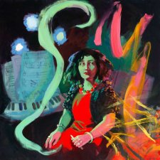 The Witching Hour - Elena Kats-Chernin, 2017 by Wendy Sharpe