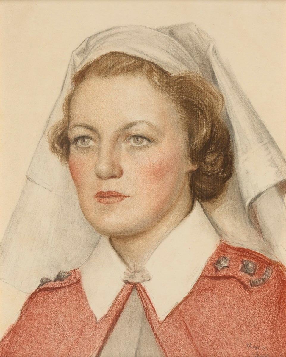 Margaret Anderson, 1942 by Napier Waller