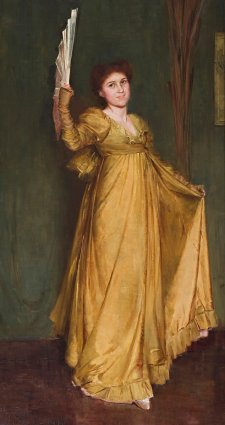 Practising the Minuet (Miss Hilda Spong), 1893 Tom Roberts