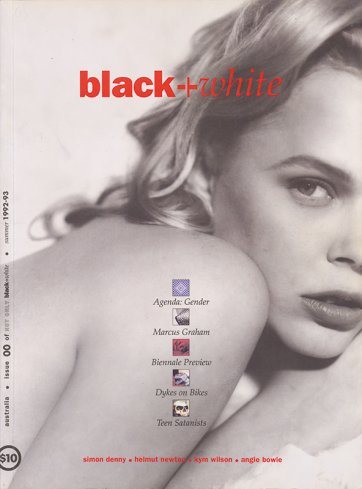 Cover black+white #00 (feat. Kym Wilson) 1992