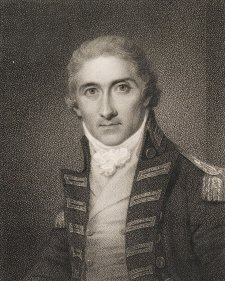 Portrait of Captain Edward Riou, 1801 Samuel Shelley, James Heath