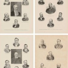 Delegates to the Constitutional Convention, Sydney 1891 from Australasia Illustrated an unknown artist