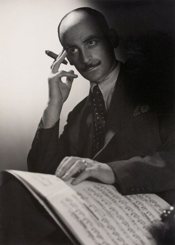Arnold Haskell, 1937 by Max Dupain