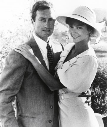 Bryan Brown and Rachel Ward from the Thorn Birds, 1983 unknown artist. © From the National Film and Sound Archive of Australia / nfsa.gov.au