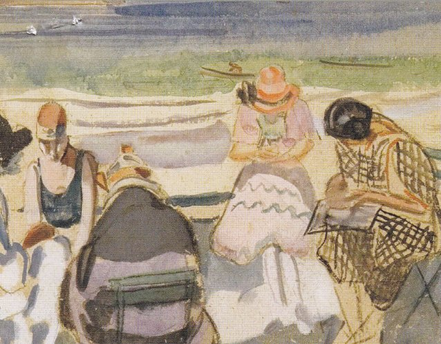 Painting Class on the Beach, 1920 by Frances Hodgkins