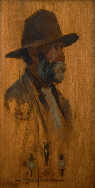 Silent Bob Bates, 1895 by Tom Roberts (1856–1931)