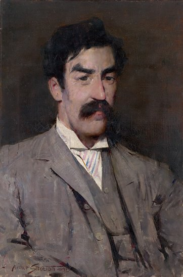 Professor Marshall-Hall, 1892 by Arthur Streeton (1867–1943)