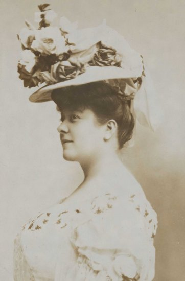 Florrie Forde (in hat), c.1905 by an unknown artist