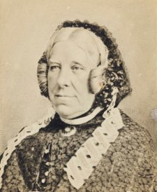 Sarah Simpson, c.1866 by an unknown artist