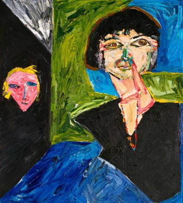 hey Betty (Portrait of Betty Churcher), 1990 Davida Allen