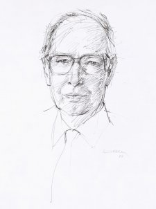 Sir Ninian Stephen, 1984 by Louis Kahan