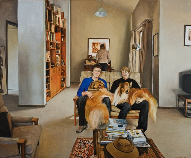 Burns family portrait, 2007 by Kristin Headlam