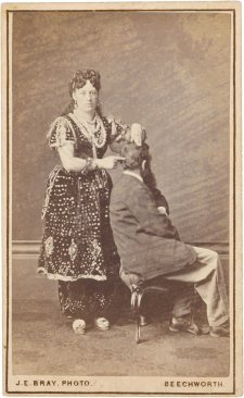 Madame Sibly, Phrenologist and Mesmerist, 1870's James E. Bray