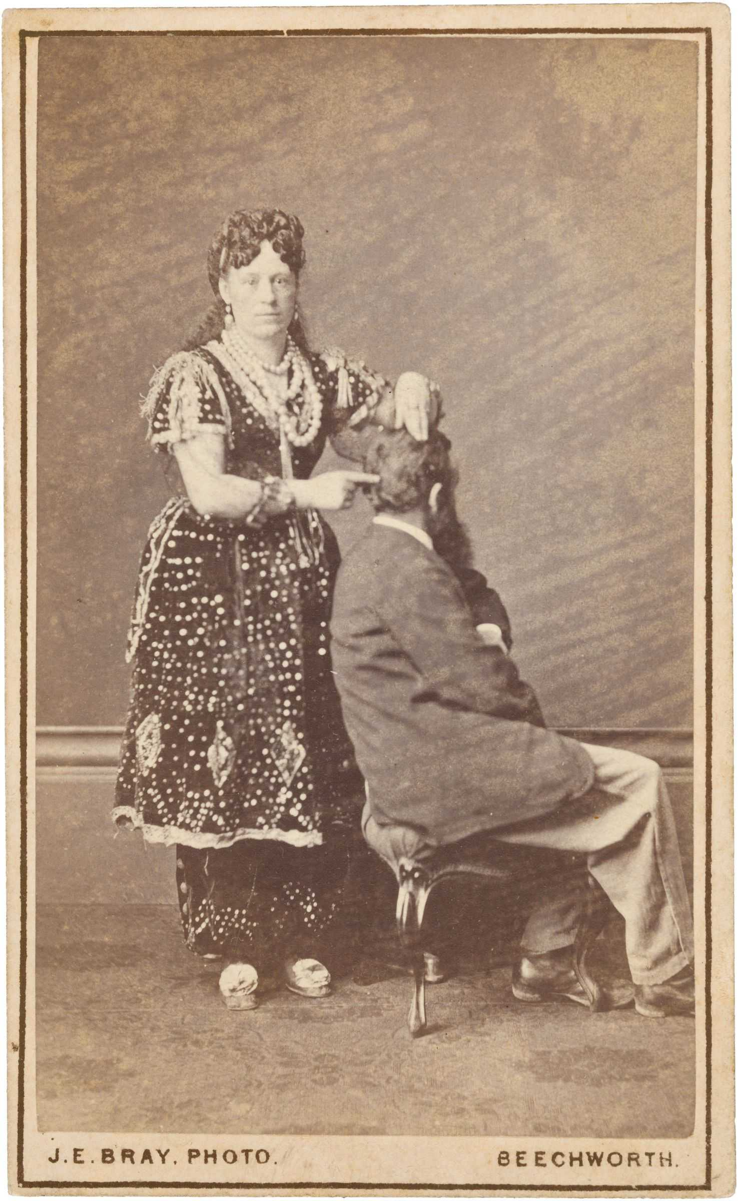 Madame Sibly, Phrenologist and Mesmerist, 1870s James E. Bray