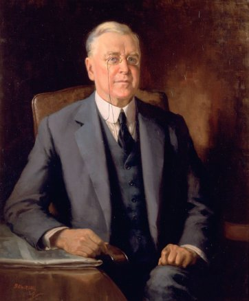 Portrait of Mr Geoffrey E. Fairfax, 1929 by W.A. Bowring