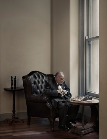 The Chess Player, 2011 by Andrew Campbell