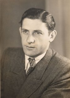 Binem Grunstein, c.1948 by an unknown artist