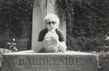 Brett Whiteley at Baudelaire's Grave, c. 1989 by an unknown artist