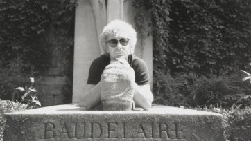 Brett Whiteley at Baudelaire's Grave, c. 1989 an unknown artist