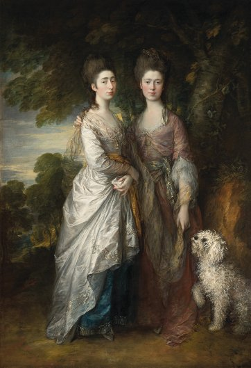 Margaret and Mary Gainsborough, c.1770-74 by Thomas Gainsborough