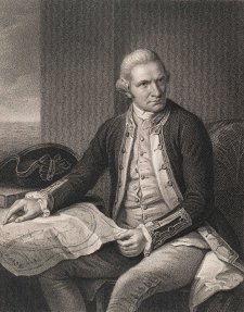 Captain James Cook from the original in the Naval Gallery, Greenwich Hospital, c. 1837 Nathaniel Dance, William Holl, Peter Jackson, London & Paris