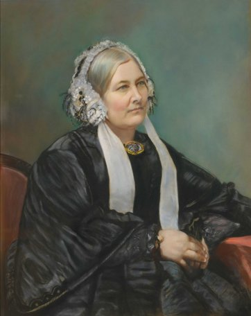 Portrait of Mrs Sarah Fairfax, c. 1864 Edwin Dalton