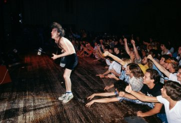 Angus Young, AC/DC, LA, 1978 Rennie Ellis