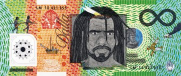 Blood Money – Infinite Dollar Note – Aunty Rose Colless oam Commemorative, 2019 Ryan Presley