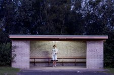 At the bus stop, 2011 by Brenton McGeachie