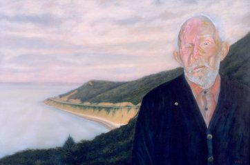 Portrait of Alec Campbell, 2001-2004 by Terry Eichler