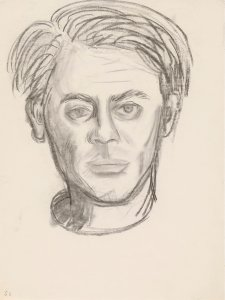 Sketch for portrait of John Perceval, c. 1962 John Brack