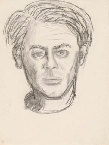 Sketch for portrait of John Perceval, c. 1962 by John Brack