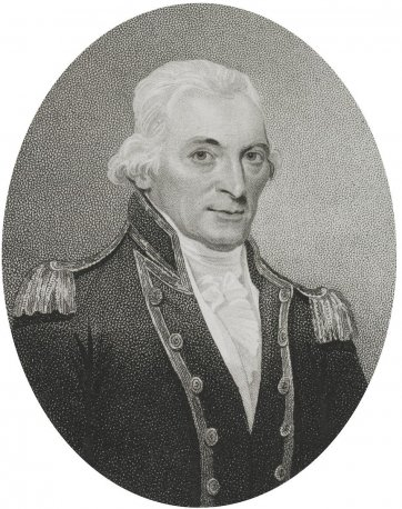 Captain John Hunter, 1801 by William Ridley