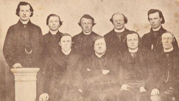 Catholic clergymen from the Diocese of Adelaide, c. 1862 Stephen Edward Nixon