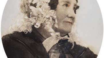 Mary Hassall (née Rouse), c.1850 by an unknown artist