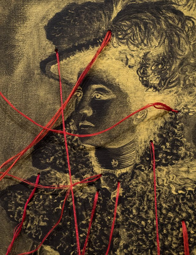 Refined Portraits of Desire (detail)