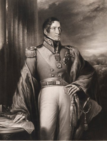 Sir Thomas Makdougall Brisbane, 1842 by Robert Frain, Frederick Bromley