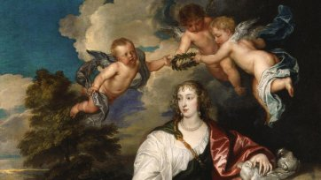 Venetia, Lady Digby, circa 1633-1634 by Sir Anthony van Dyck