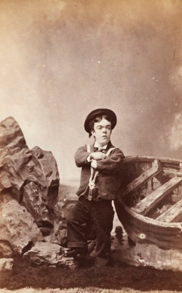 The Australian Tom Thumb (John David Armstrong), c. 1880 Sarony & Co.