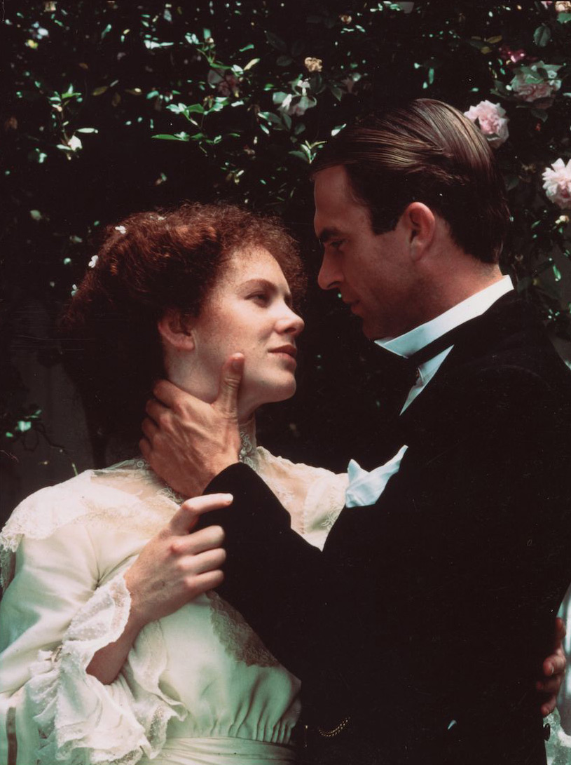 Judy Davis as Sybilla and Sam Neill as Harry by David Kynoch Film: My Brilliant Career, 1979