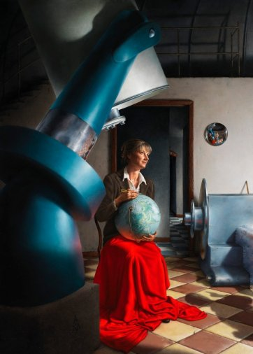 Professor Penny Sackett, astronomer and physicist, 2011 by Andrew Mezei