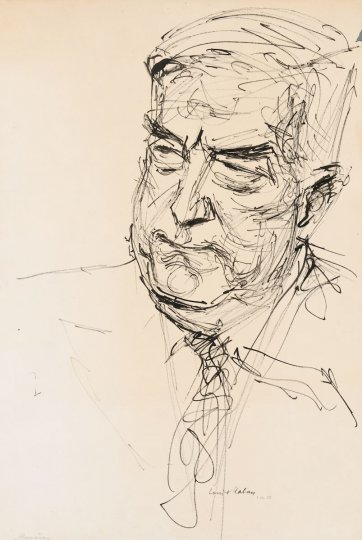 Sir Robert Menzies by Louis Kahan