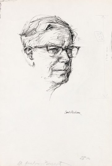 Sir Macfarlane Burnet, late 1970s by Louis Kahan