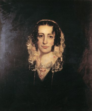 Portrait of Mary (Laidman), Mrs. Thomas Harbottle, 1846