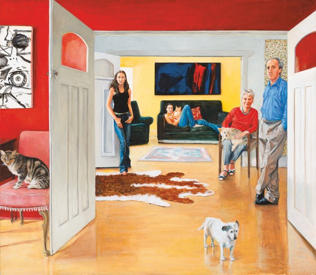 The Nodrum family, 2005 by Kristin Headlam
