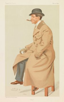 """Phil"" Phil May (Image plate from Vanity Fair), 1895 Sir Leslie Ward"