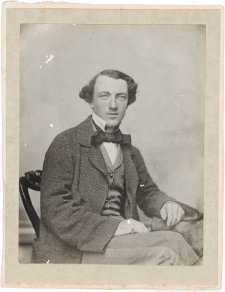 Tom Wills, c. 1857 or c. 1864  (printed c. 1905-10) an unknown artist
