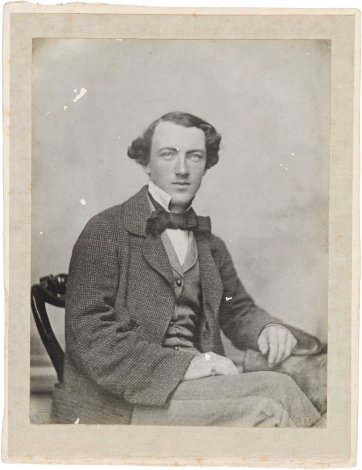 Tom Wills, c.1857 or c.1864  (printed c.1905-1910) an unknown artist